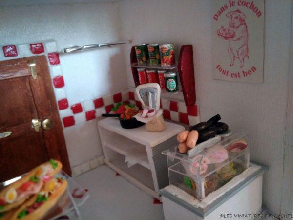 Boutiques Miniatures - Boucherie