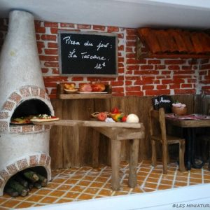 Restaurant Miniature - La Pizzéria