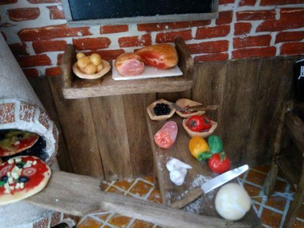 Restaurant Miniature - La Pizzéria