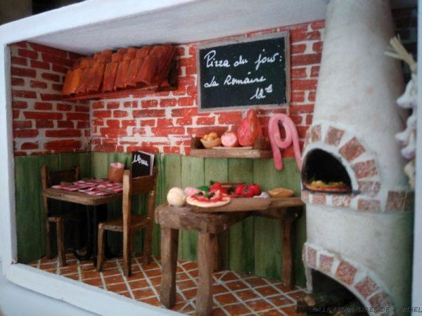 Restaurant Miniature - La Pizzeria