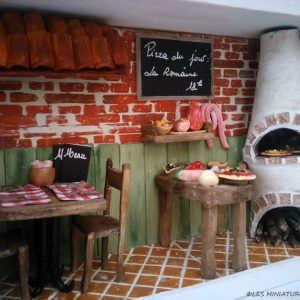 Restaurant Miniature - La Pizzeria