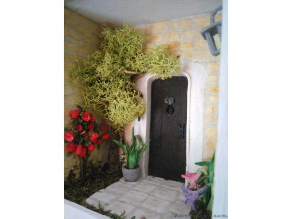 Jardin et Porte Miniature - Diorama
